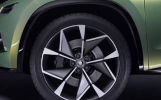 Какие шины рекомендует шкода