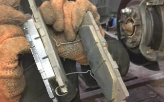 Как снять передний тормозной диск тойота камри